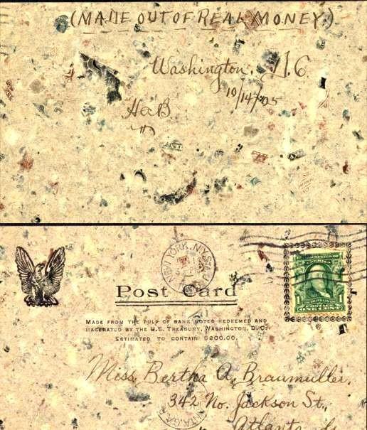 Macerated Money Used NYC