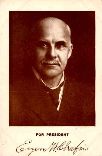 Presidential Prohibition Candidate Chafin 1908