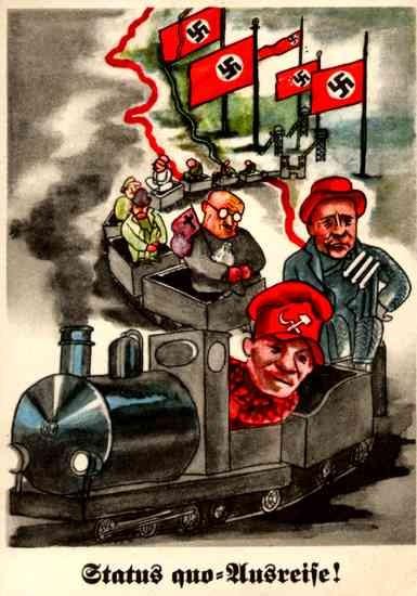 Communist Train Nazi Germany