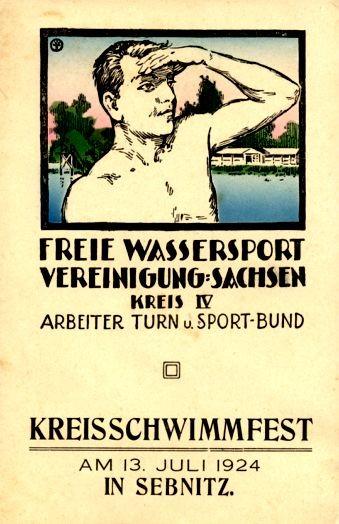 Swimming Festival 1924 German