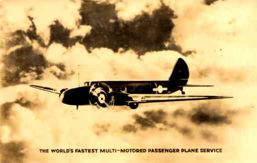 Boeing Monoplane Real Photo