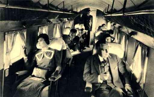 Interior Douglas Airplane TWA