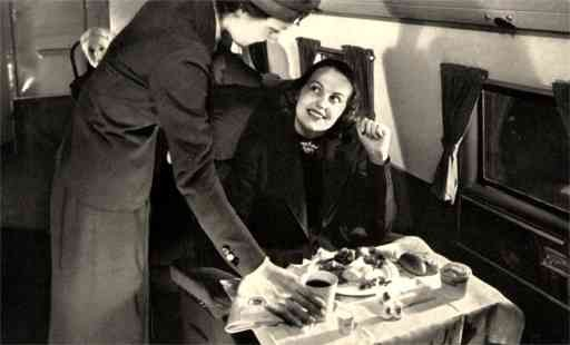 United Air Lines Interior Real Photo
