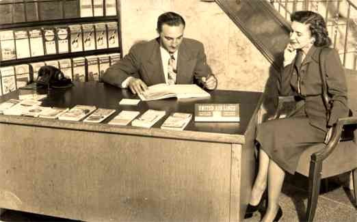 United Airlines Office & Telephone RP