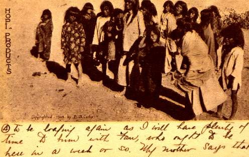 Curtis Hopi Indian Children