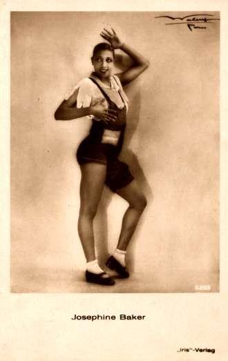 Black Dancer Josephine Baker Real Photo