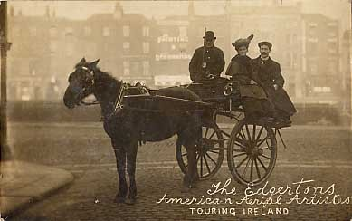 Horse-Drawn Carriage Real Photo