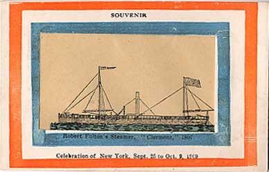 Fulton Steamership Souvenir NYC
