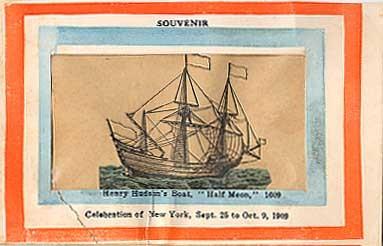 Hudson Fulton Boat Souvenir NYC