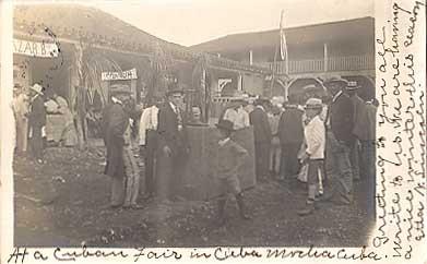 Fair Cuba 1907 Real Photo
