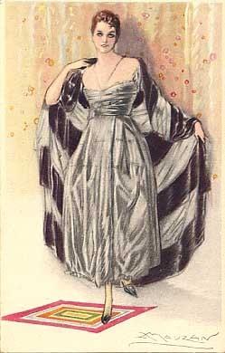 Art Deco Glamour Woman Mauzan