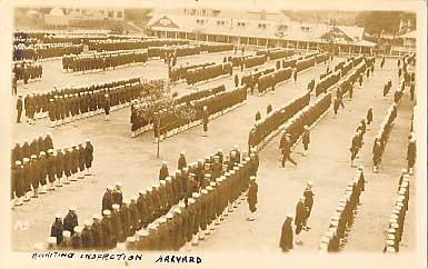 World War I Harvard University RPPC