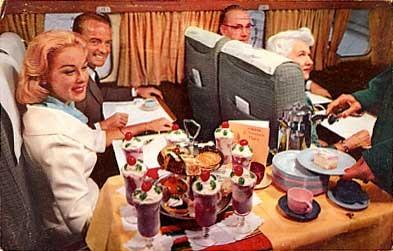 Western Airlines Fiesta Flights Advert