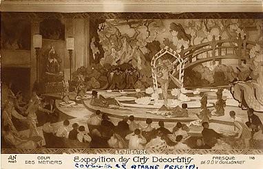 Art Decorative Exposition RPPC French