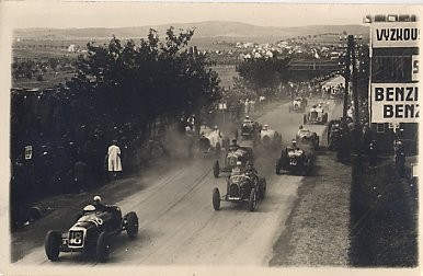 Auto Racing Real Photo