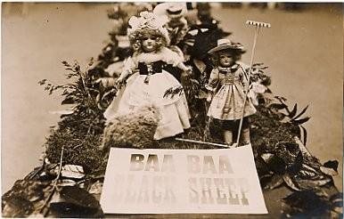Dolls Black Sheep Real Photo