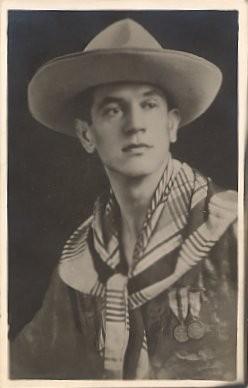 Real Photo Boy Scout Portrait