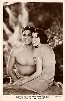 Movie Star Tarzan Real Photo
