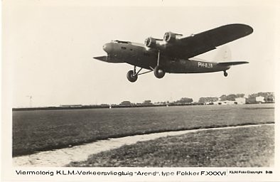 Commercial Aviation KLM Real Photo