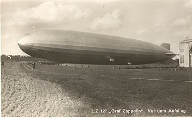 Real Photo German Zeppelin