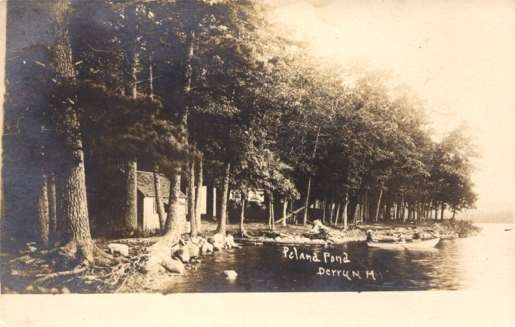 Pond Derry New Hampshire Real Photo
