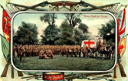 Red Cross Corps Horse-Drawn Wagon