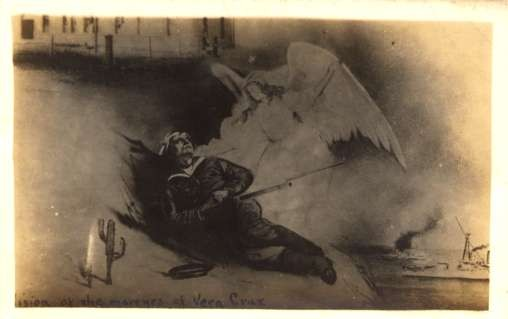 Wounded Angel Real Photo