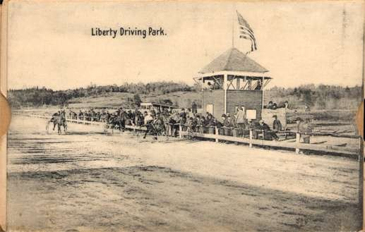 Harness Racers at Liberty Driving Park Pull-Out