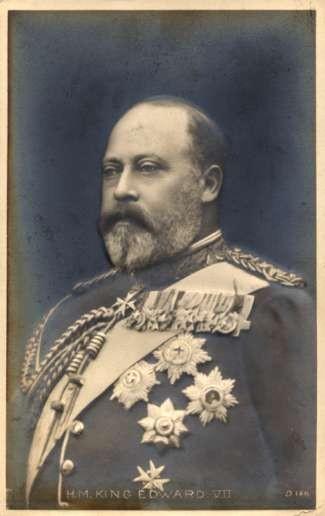 British King Edward VII