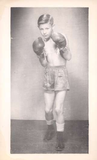 13 Year-Old Boxing Champion Ronnie Walcott