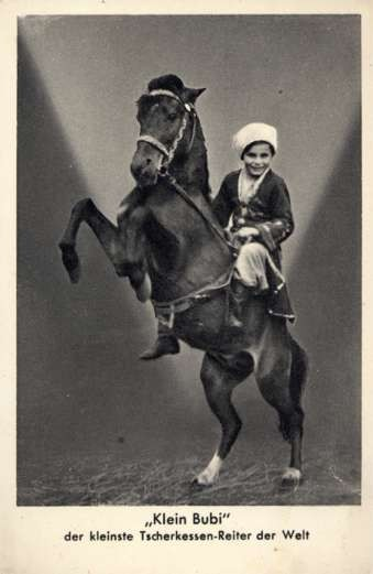 Circus Child Performer on Horse