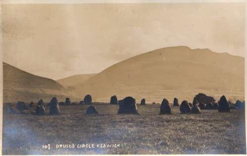Keswick Druid's Circle Real Photo