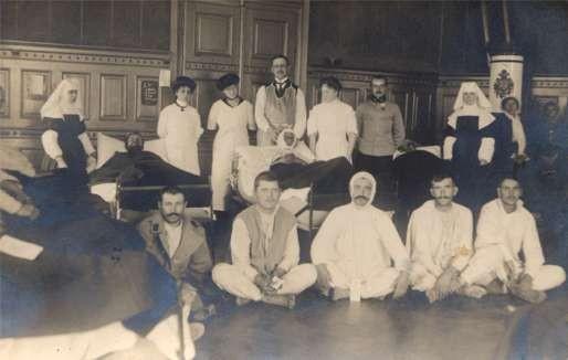 Red Cross Nurses Hospital WWI RP