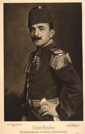Persian Pasha Enver