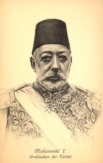 Turkish Sultan Mohammed V