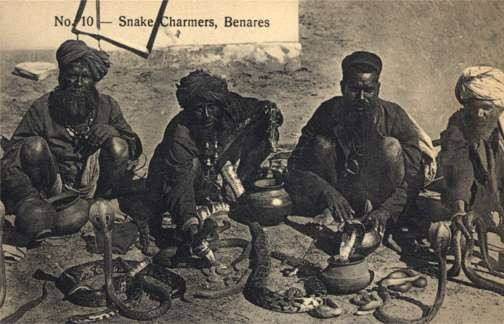 Benares Snake Charmers