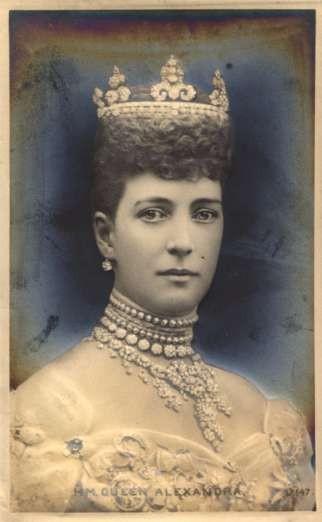 British Queen Alexandra Real Photo