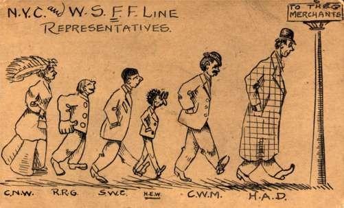 NYC WSFF Line Representatives Postal
