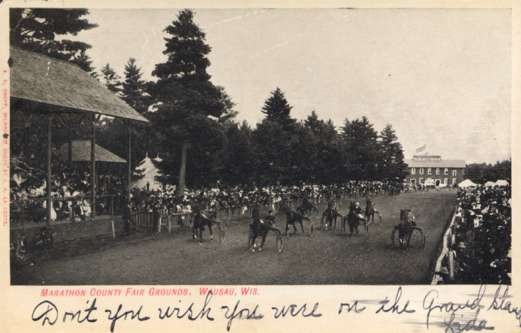 Harness Race Fair Grounds Wausau WI