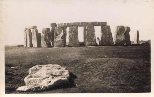 UK England Stonehenge Real Photo