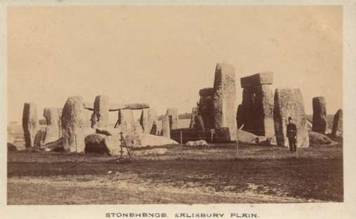 UK England Stonehenge Salisbury Plain Policeman RP