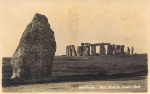 UK England Stonehenge Friar's Heel Real Photo