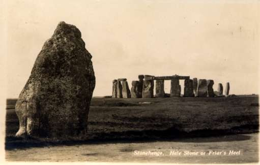 UK Stonehenge Friar's Heel Real Photo