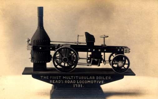 1791 Locomotive 1st Multitubular Boiler RP