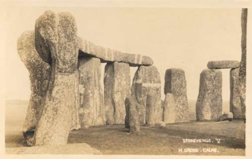 UK Stonehenge Real Photo