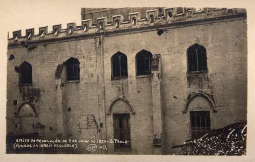 Brazil St. Paulo Church Revolution 1924 RP