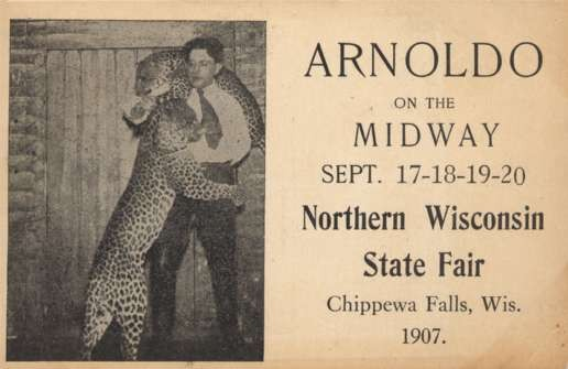 WI Chippewa Falls 1907 Fair Cheetah Tammer