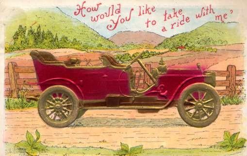 Auto in Open Field