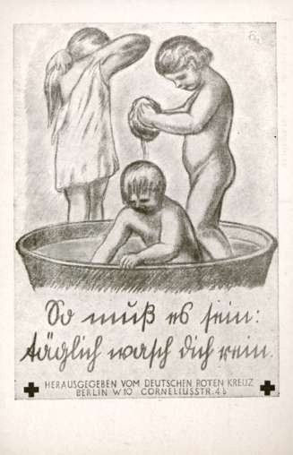 Bathing Children Anti-Tuberculosis