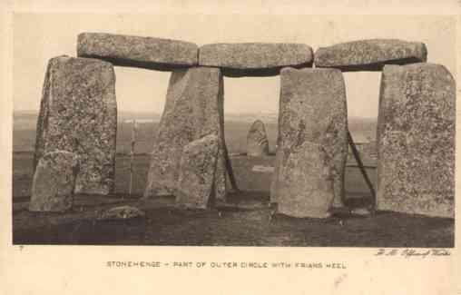 UK Stonehenge Part of Outer Circle